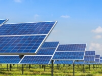 Solar panels made with thin-film conductive CVD coatings
